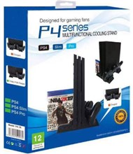استند شارژر و فن  Multifunctional cooling stand PS4 Slim Pro Fat