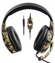 هدست گیمینگ مالتی پلتفرم OiVO High Power Bass Gaming Headset Camouflage