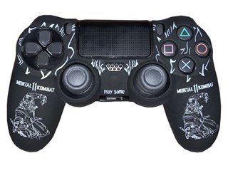 روکش دسته PS4 Dualshock 4 Cover - Mortal Kombat White