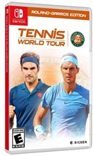 بازی نینتندو   Tennis World Tour Roland Garros Edition - Nintendo Switch