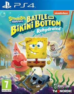 بازی Spongebob SquarePants Battle Bottom Rehydrated  PlayStation 4