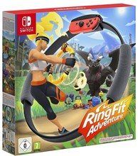 دسته مخصوص و بازی  Ring Fit Adventures  Nintendo Switch Exclusive
