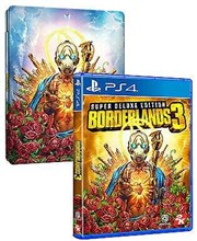 نسخه استیل بوک بازی Borderlands 3 Super Deluxe Edition Playstation 4