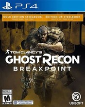 نسخه استیل بوک PS4 Tom Clancy's Ghost Recon Breakpoint Steelbook Gold