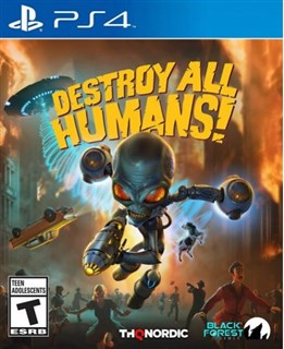 بازی Destroy All Humans برای PS4