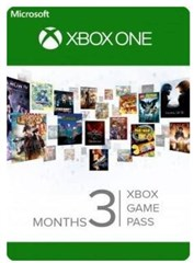 گیم پس  سه ماهه Xbox Game Pass 3 Month