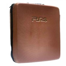 کیف ضدضربه PS4 Pro  Hard Case - Snake Leather Brown