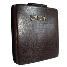 کیف ضدضربه PS4 Pro Hard Case - Snake Leather Black