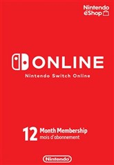 اشتراک 12 ماهه Nintendo Switch Online