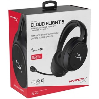 هدست گیمینگ پلی استیشن HyperX Cloud Flight S Wireless Gaming Headset