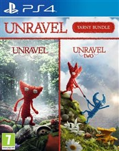 مجموعه بازی Unravel 1 and 2 Yarny Bundle on PlayStation 4