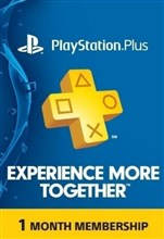 PSN پلاس 1 ماهه US PLAYSTATION PLUS