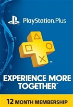 PSN پلاس 12 ماهه US PLAYSTATION PLUS Play online