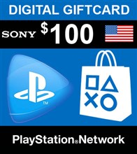 PSN امریکا 100 دلاری PlayStation Network