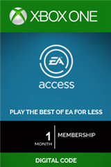 اشتراک 1 ماهه EA Access Subscription Xbox One Digital Code
