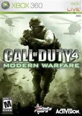 بازی Call of Duty 4 Modern Warfare برای XBOX 360