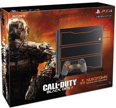 کنسول ریجن PS4 باندل لیمیتد  CALL OF DUTY BLACK OPS 3