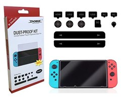 پک ضد گرد و غبار و محافظ Glass Screen Protector Dust Proof kit Nintendo Switch