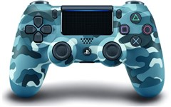 دسته بازی PS4 مدل Sony DualShock 4 Controller Wireless ارتشی Blue Camouflage