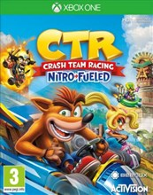 بازی Crash Team Racing  Nitro Fueled برای XBOX ONE