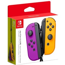 دسته بازی  سوییچ NINTENDO SWITCH JOY CON CONTROLLER Purple Neon Orange