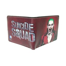 کیف پول طرح Suicide Squad Wallet The Joker Harley Quinn